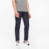 Paul Smith Men's Slim-Fit 11.8oz Indigo-Rinse 'Super Soft Cross-Hatch' Stretch-Denim Jeans