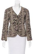 Valentino Virgin Wool Patterned Cardigan