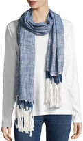Big Buddha Scarf Solid Chambray Day Wrap