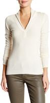 Inhabit Cashmere Shawl V-Neck Sweater