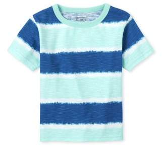 Children's Place The Toddler Boy Short Sleeve Tie-Dye T-Shirt