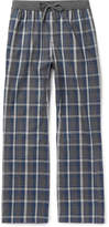 Hugo Boss - Checked Cotton-flannel Pyjama Trousers