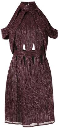 Reinaldo Lourenço Textured Short Dress