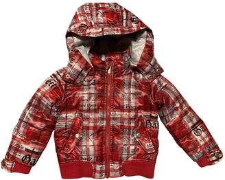John Galliano Red Polyester Jackets & Coats