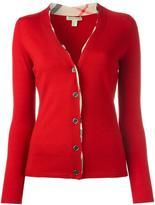 Burberry v-neck cardigan - women - Wool - S