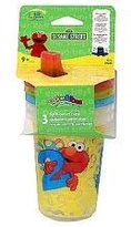 Sesame Street Sesame Beginnings 3 Pk Sippy Cup 10oz