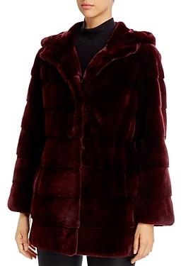Maximilian Furs Plucked Mink Fur Coat - 100% Exclusive
