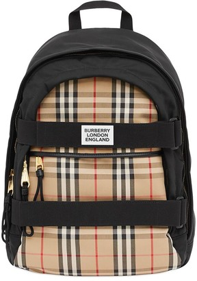 Burberry medium Vintage Check Nevis backpack