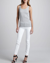 Vince Skinny Ankle Jeans, Optic White