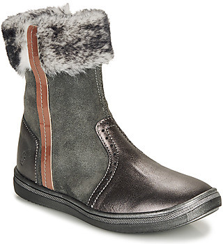 GBB OZOE girls's Mid Boots in Grey