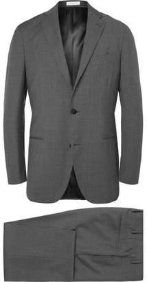 Boglioli Grey Slim-Fit Virgin Wool Suit