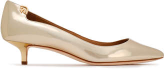Tory Burch Mirrored Leather Pumps