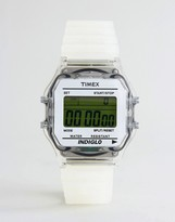 Timex Digital Watch In White