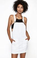 PacSun White Denim Overall Dress