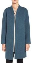 Eileen Fisher Double Face Brushed Wool Blend Kimono Jacket