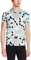 French Connection Men's Super Arri Geo T-Shirt