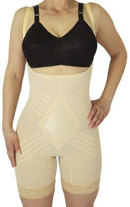 Your Own RAG HairO Rago Wear Bra Satin Panel Stretch-Lace Singlet Firm Control Body Shaper - 9070