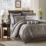 Bed Bath & Beyond Aubrey California King 12 Piece Jacquard Comforter Set