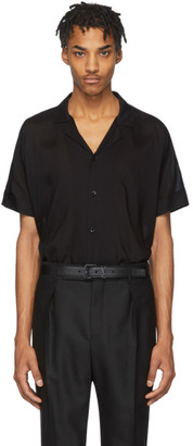 Saint Laurent Black Voile Shirt