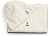 Ralph Lauren Hat & Scarf Set