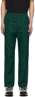 Ader Error Green Oblique Track Pants