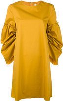 Tibi oversized dress - women - Cotton - XS
