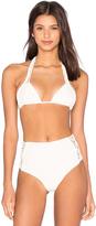 Mikoh Kula Woven Triangle Bikini Top