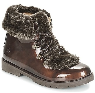Citrouille et Compagnie JITTER girls's Mid Boots in Brown
