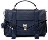 Proenza Schouler PS1 Medium Satchel Bag, Navy
