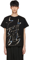 Yohji Yamamoto Black Art Print T-Shirt