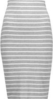 Bailey 44 Bianca striped stretch-jersey skirt