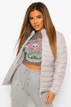 boohoo Petite Basic Puffer Jacket