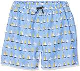 Rachel Riley Boy's Sailboat Trunks Swim Shorts