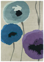 Sanderson Poppies Indigo/Purple Rug - 170x240cm