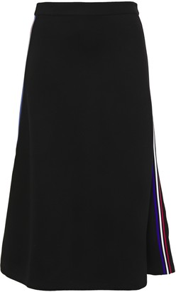 Être Cécile Aline Striped Stretch-knit Midi Skirt