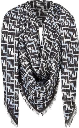 Fendi FF logo shawl