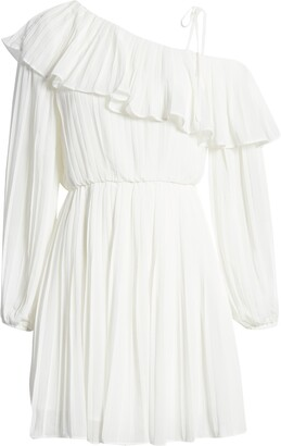 Endless Rose Pleated One-Shoulder Dress