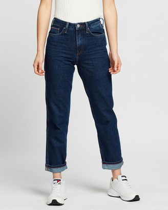 Tommy Hilfiger Classic Straight High-Waist Jeans