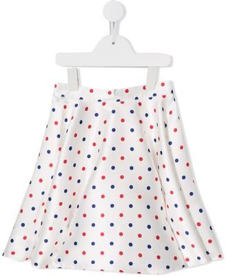 Charabia Polka Dot Print Skirt