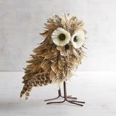 Pier 1 Imports Skyler the Natural Feather Owl