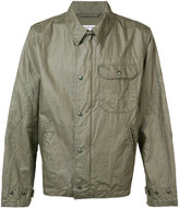 Engineered Garments chest pocket jacket - men - Linen/Flax - L