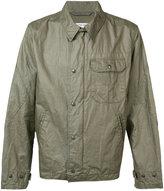 Engineered Garments chest pocket jacket - men - Linen/Flax - M