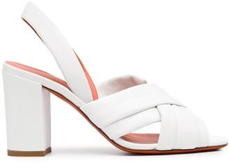 Santoni Crossover Open Sandals