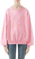 Gucci Tennis Embroidered Jersey Sweatshirt