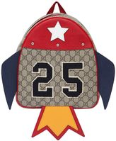 Gucci 25 Patch Gg Supreme Backpack