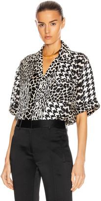 Pierre Louis Mascia Pierre-Louis Mascia Short Sleeve Shirt in Multi | FWRD