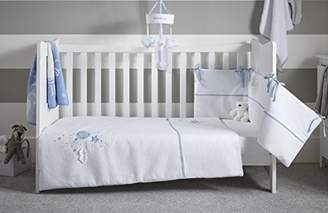 Clair De Lune Cot Bed Bedding Set, Blue, Over The Moon
