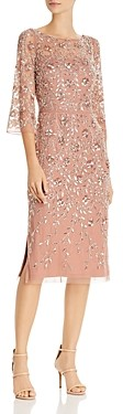 Aidan Mattox Beaded Sheath Dress - 100% Exclusive
