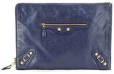 Balenciaga Classic Pouch Leather Clutch
