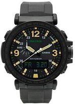 Casio Men's PRO TREK Triple Sensor Analog-Digital Tough Solar Watch - PRG-600Y-1CR